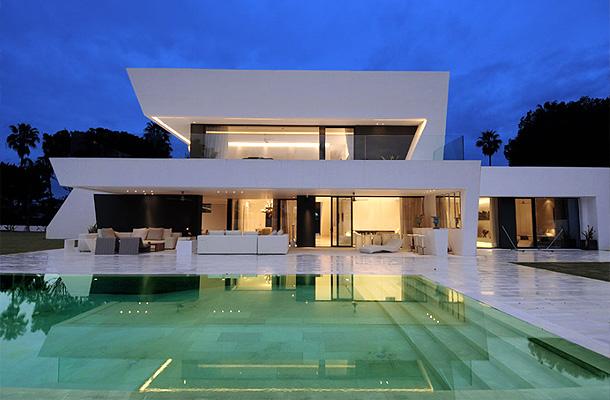 Residential Architecture Angular Minimalism Design